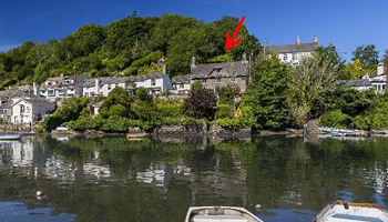 UK waterside home for sale: Noss Mayo, Plymouth, Devon -