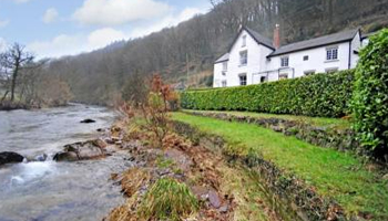UK waterside home for sale: Dulverton, Somerset  - a3395a