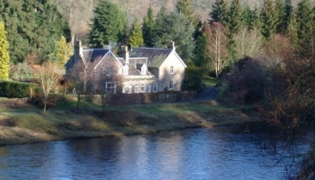 UK waterside home for sale: Dunkeld, Perthshire, Scotland - a4567a